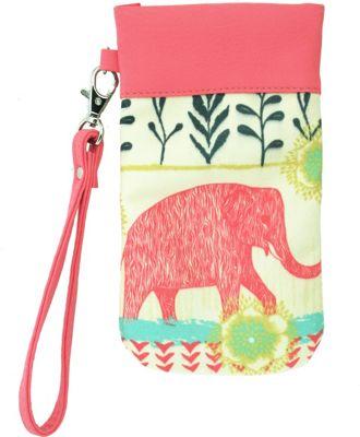 Image of Capri Designs Sarah Watts Eyeglass Carryall Case Elephant - Capri Designs Ladies Purse Accessories