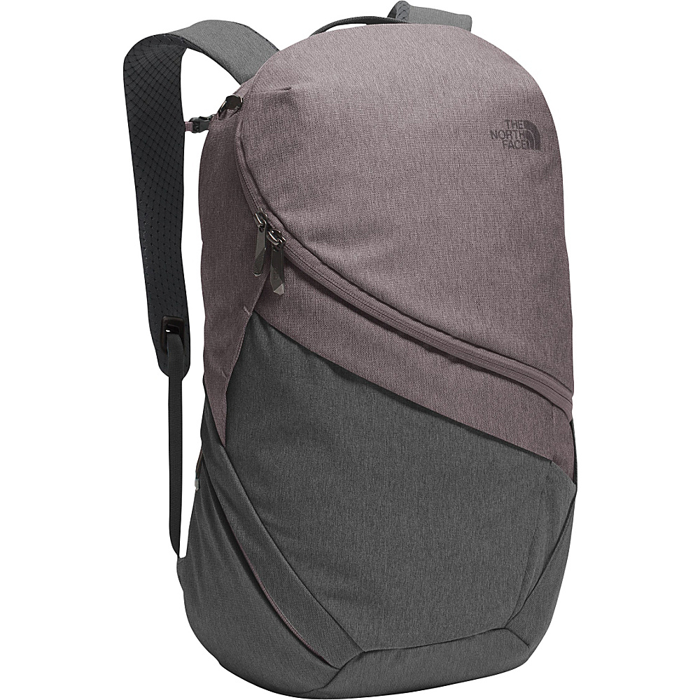 The North Face Womens Aurora Laptop Backpack Rabbit Grey Black Heather/Quail Grey - The North Face Business & Laptop Backpacks - Backpacks, Business & Laptop Backpacks