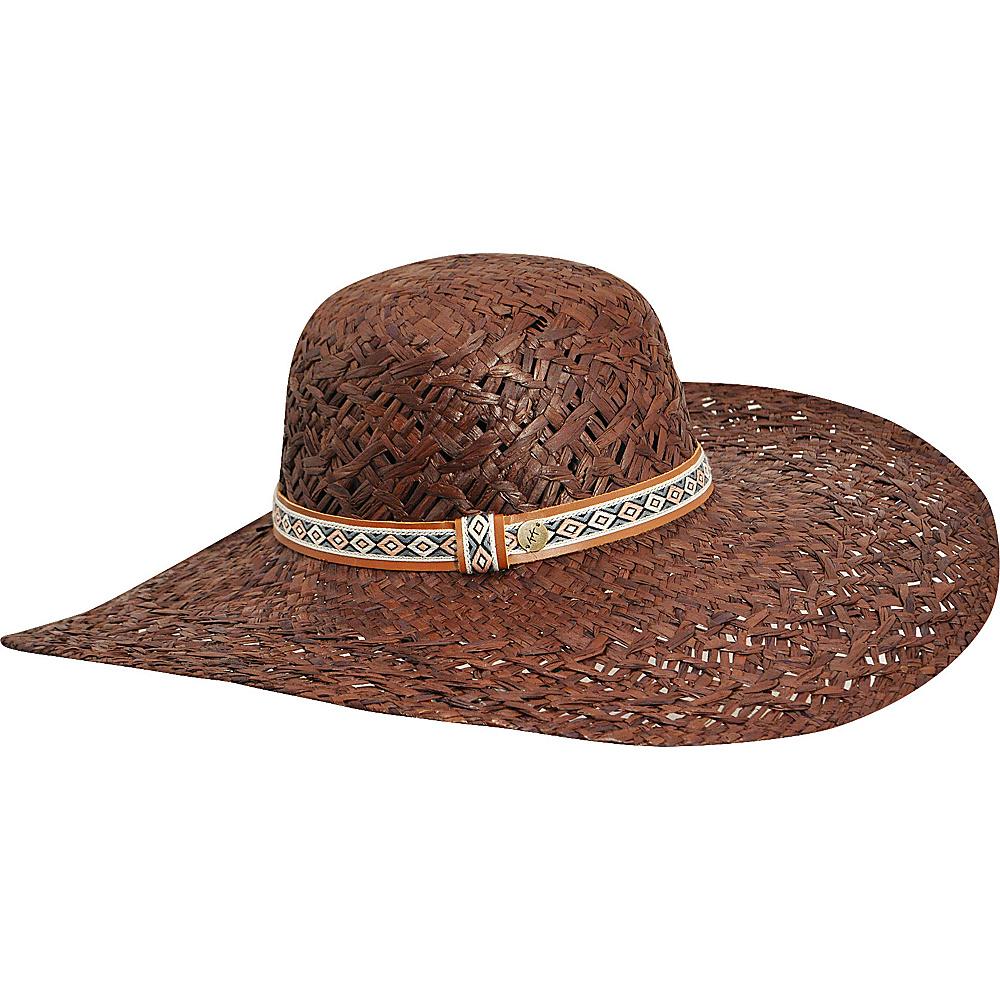 Karen Kane Hats Wide Brim Raffia Floppy Hat Cocoa Karen Kane Hats Hats Gloves Scarves
