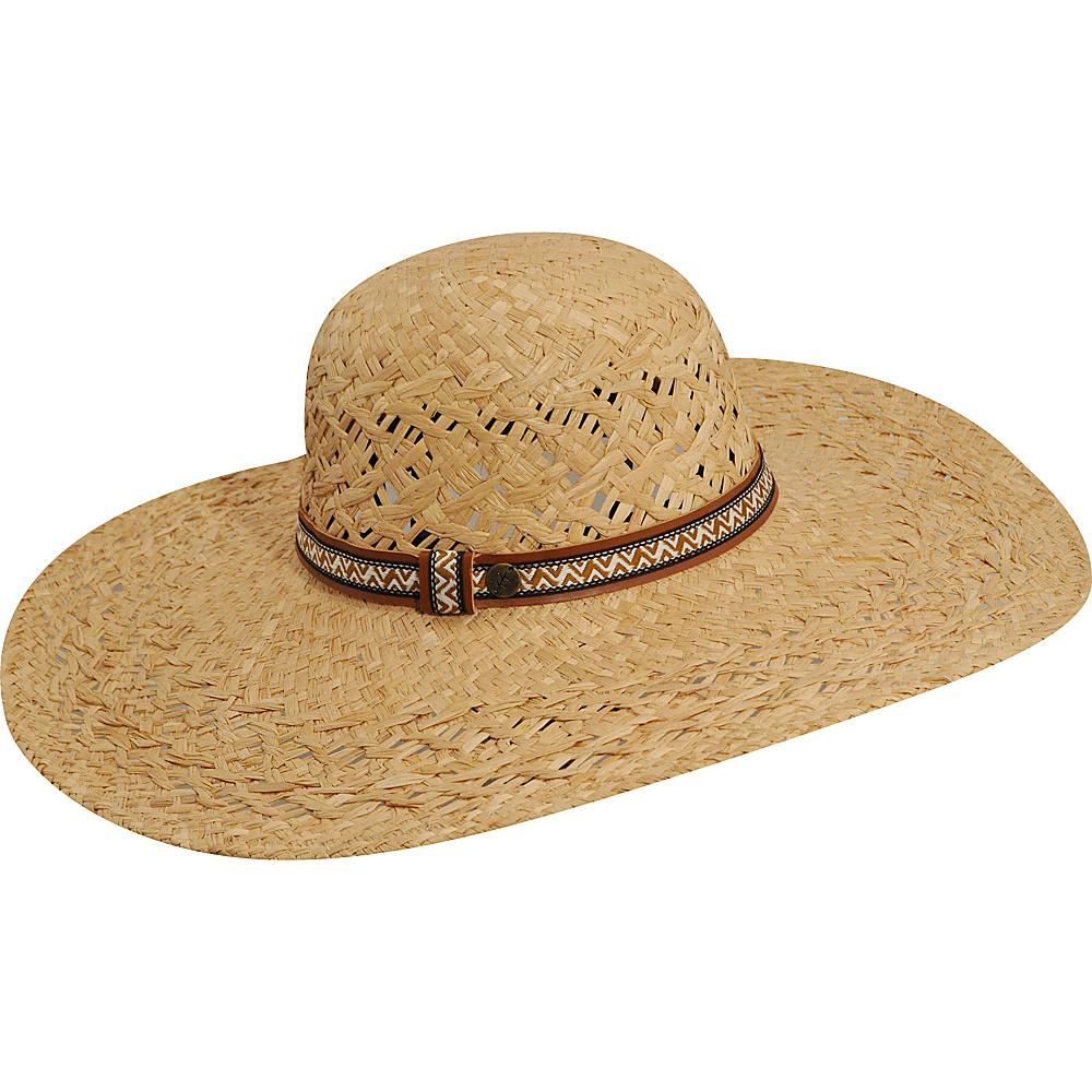Karen Kane Hats Wide Brim Raffia Floppy Hat Natural Karen Kane Hats Hats Gloves Scarves
