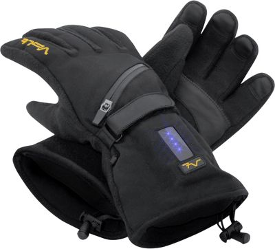 Volt Heated Clothing Fleece Gloves L - Black - Volt Heated Clothing Hats/Gloves/Scarves