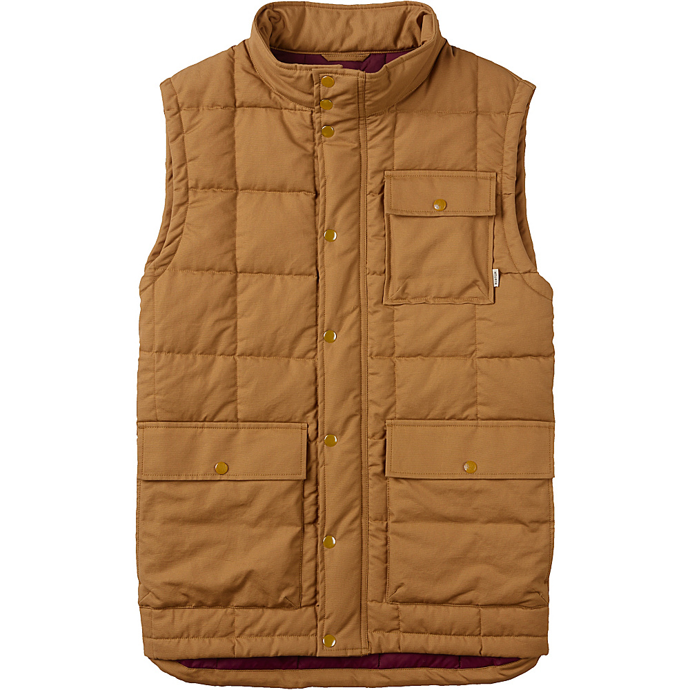 Burton Mens Woodford Vest S Woodthrush Burton Men s Apparel