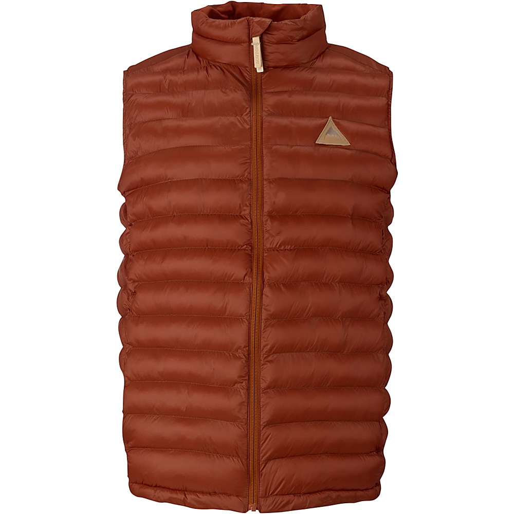 Burton Mens Evergreen Synthetic Insulator Vest S Picante Burton Men s Apparel