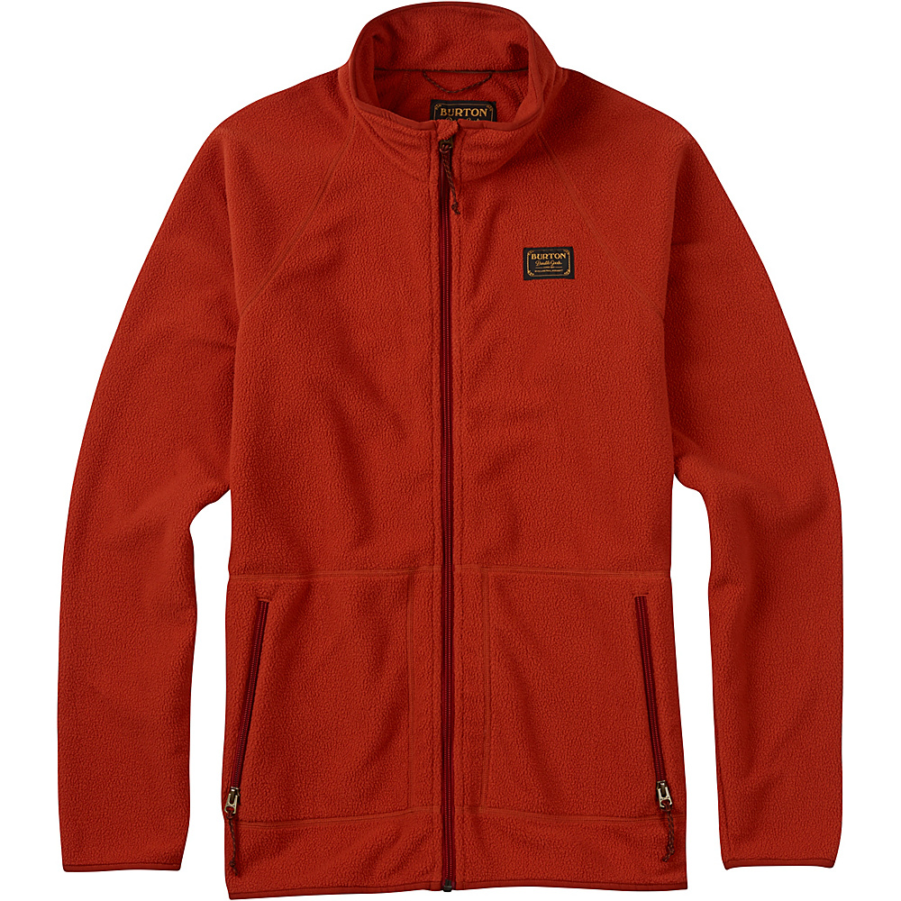Burton Mens Ember Fleece Full Zip M Picante Burton Men s Apparel