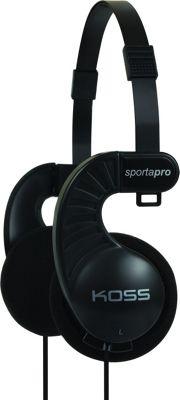 Koss Stereophones with Flexible Headband Design Black - Koss Headphones & Speakers