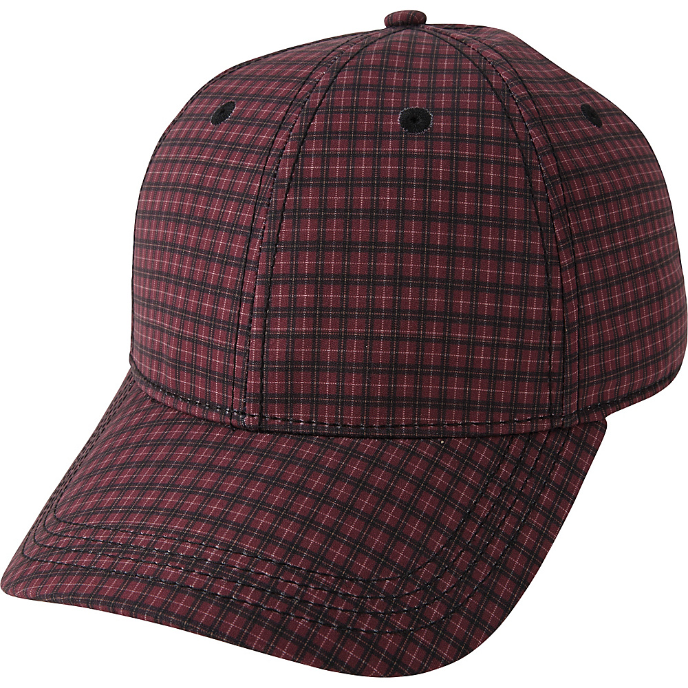 Ben Sherman Sublimation Print Baseball Hat L/XL - Cranberry - L/XL - Ben Sherman Hats/Gloves/Scarves