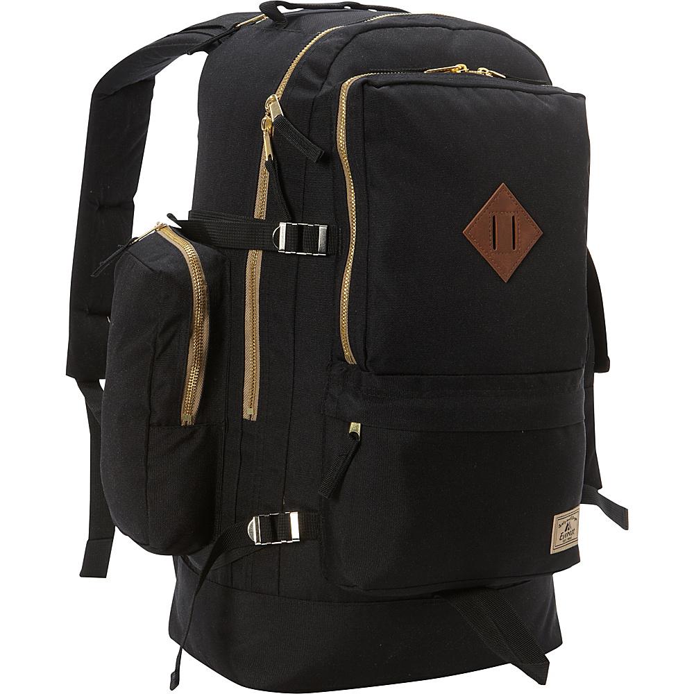 Everest Daypack with Laptop Pocket Black - Everest Business & Laptop Backpacks - Backpacks, Business & Laptop Backpacks