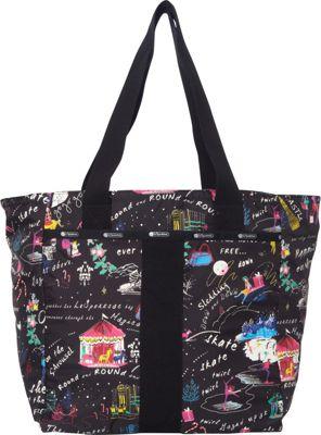 LeSportsac Everyday Tote Wonderland C - LeSportsac Fabric Handbags