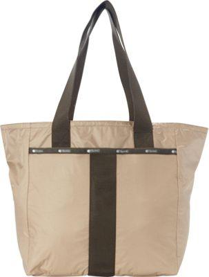 LeSportsac Everyday Tote Travertine C - LeSportsac Fabric Handbags