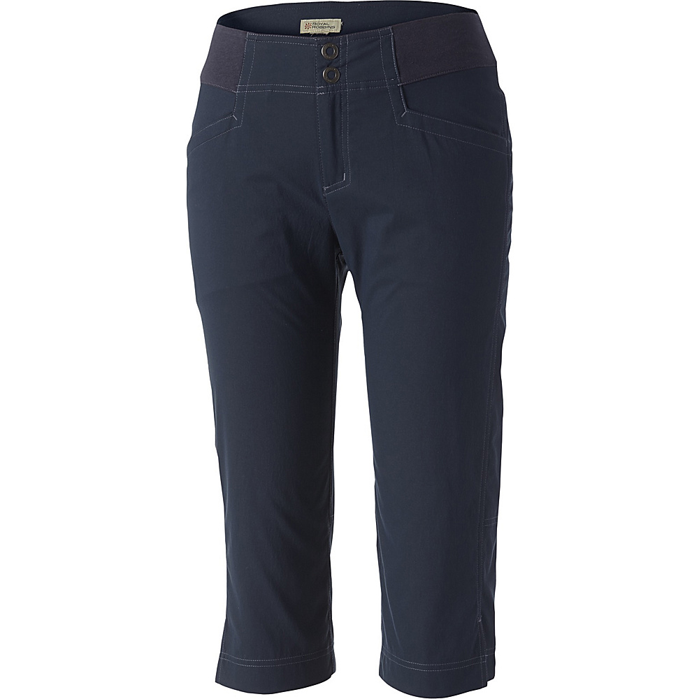 Royal Robbins Womens Jammer Capri 12 - Navy - Royal Robbins Womens Apparel - Apparel & Footwear, Women's Apparel