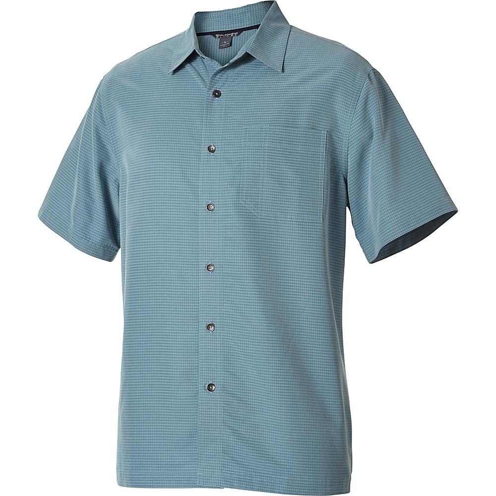 Royal Robbins Desert Pucker Short Sleeve S - Adriatic - Royal Robbins Mens Apparel - Apparel & Footwear, Men's Apparel
