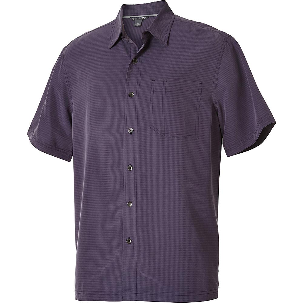 Royal Robbins Desert Pucker Short Sleeve S - Graystone - Royal Robbins Mens Apparel - Apparel & Footwear, Men's Apparel