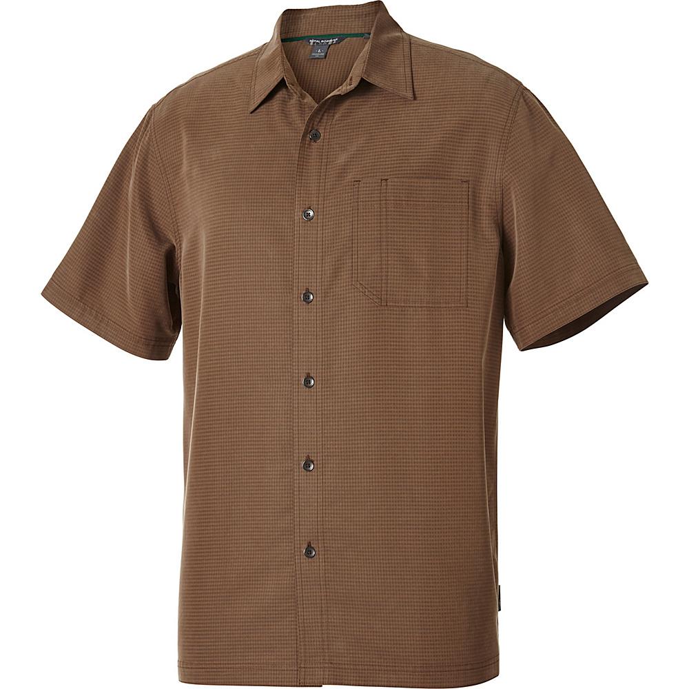 Royal Robbins Desert Pucker Short Sleeve S - Desert Palm - Royal Robbins Mens Apparel - Apparel & Footwear, Men's Apparel