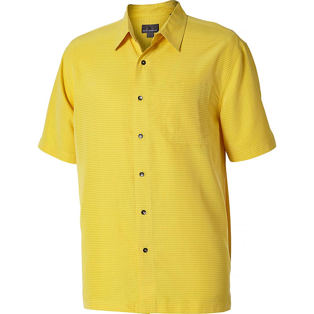 Royal Robbins Desert Pucker Short Sleeve L - Bell - Royal Robbins Mens Apparel - Apparel & Footwear, Men's Apparel