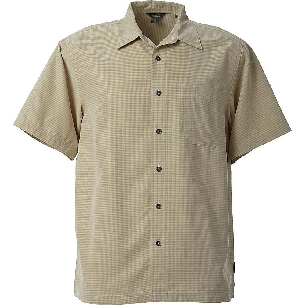 Royal Robbins Desert Pucker Short Sleeve 2XL - Soapstone - Royal Robbins Womens Apparel - Apparel & Footwear, Women's Apparel