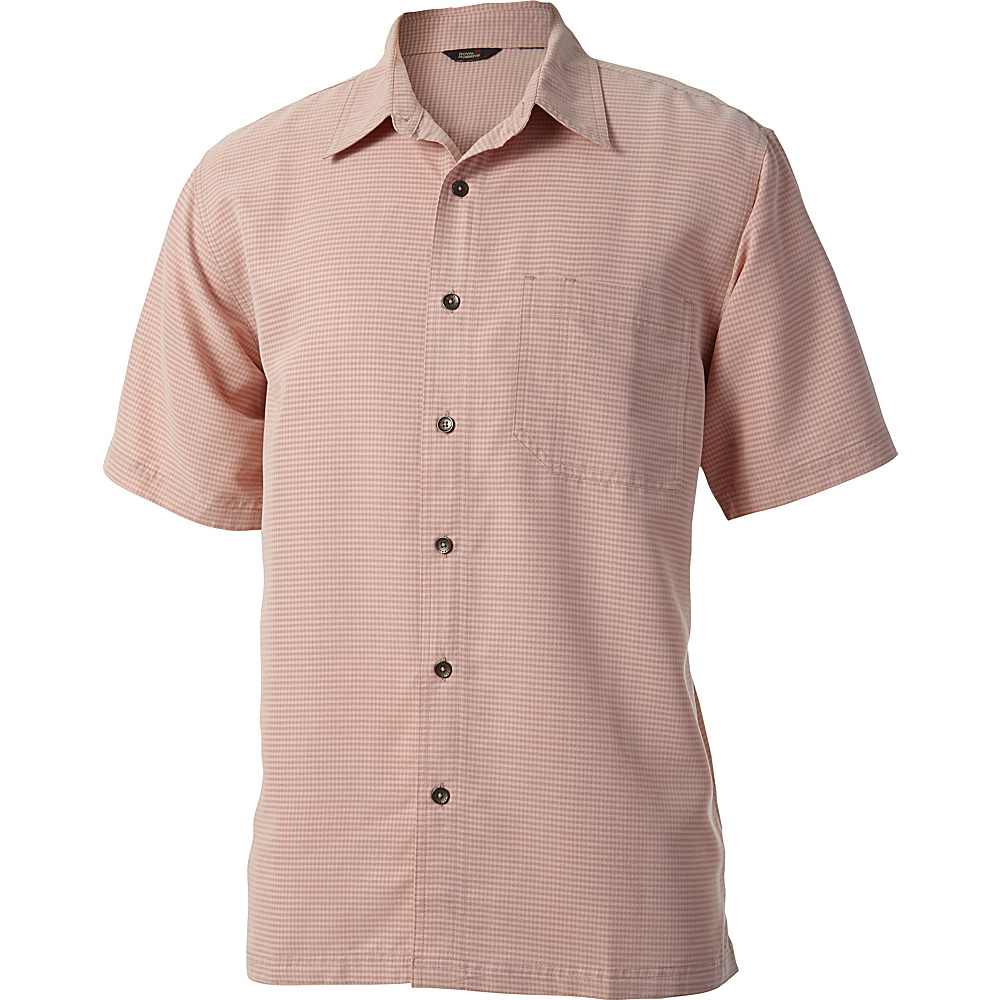 Royal Robbins Desert Pucker Short Sleeve S - Glaze Pink - Royal Robbins Womens Apparel - Apparel & Footwear, Women's Apparel