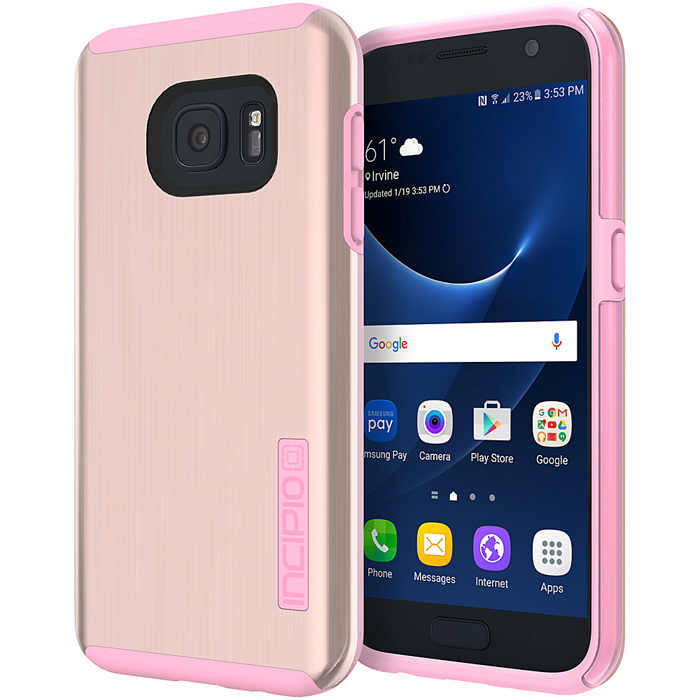 Incipio DualPro Shine for Samsung Galaxy S7 Rose Gold/Pink - Incipio Electronic Cases - Technology, Electronic Cases