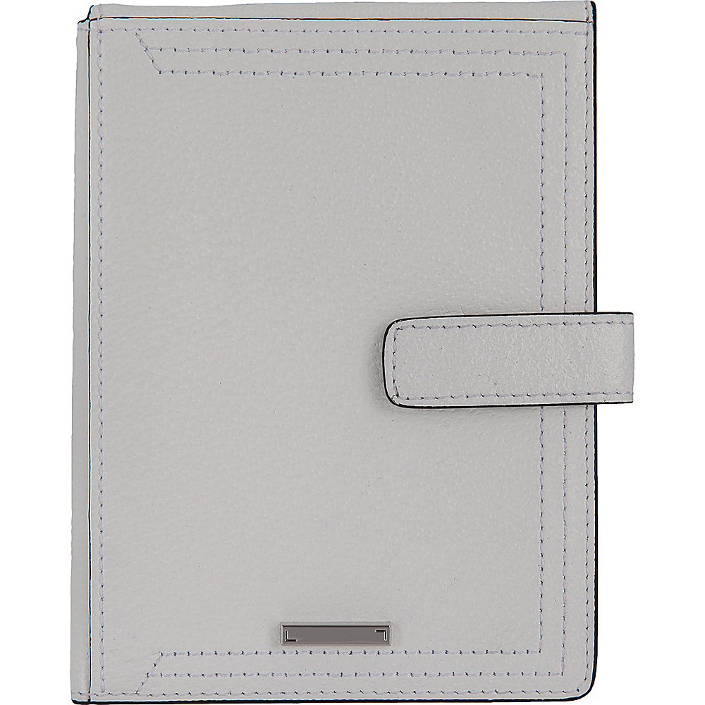 Lodis Stephanie Under Lock & Key Passport Wallet W/Ticket Flap White - Lodis Travel Wallets - Travel Accessories, Travel Wallets