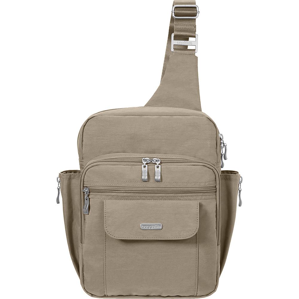 baggallini Messenger Sling Backpack- Retired Colors Beach - baggallini Fabric Handbags - Handbags, Fabric Handbags