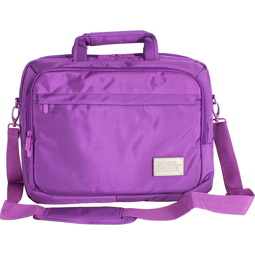 Digital Treasures ToteIt! Deluxe 17 Case Purple Digital Treasures Non Wheeled Business Cases