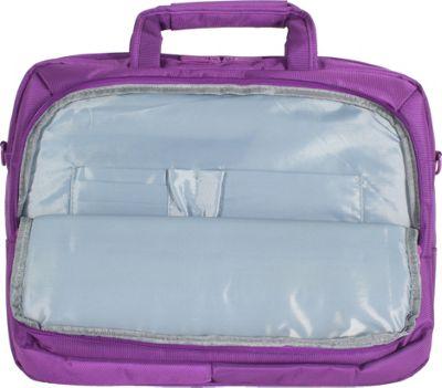 Digital Treasures ToteIt! Deluxe 17 inch Case Purple - Digital Treasures Non-Wheeled Business Cases