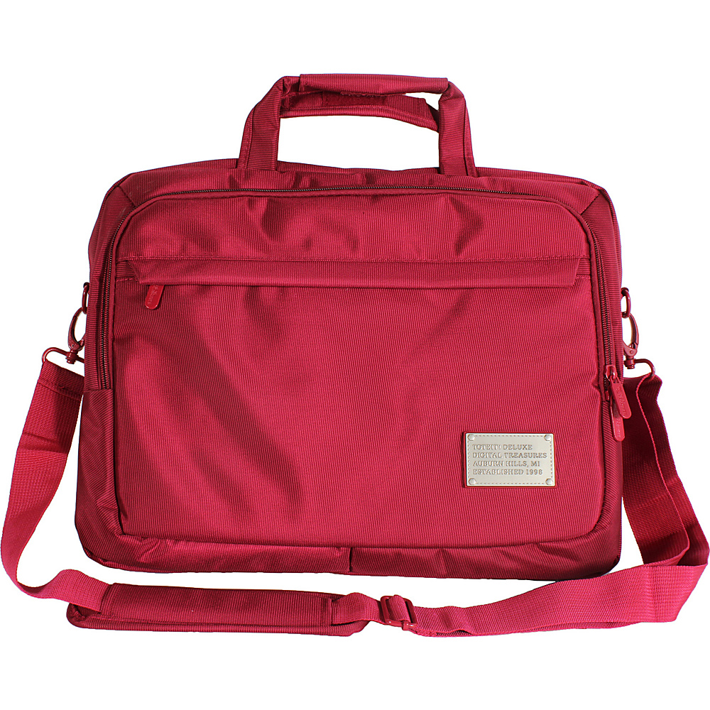 Digital Treasures ToteIt! Deluxe 17 Case Red Digital Treasures Non Wheeled Business Cases