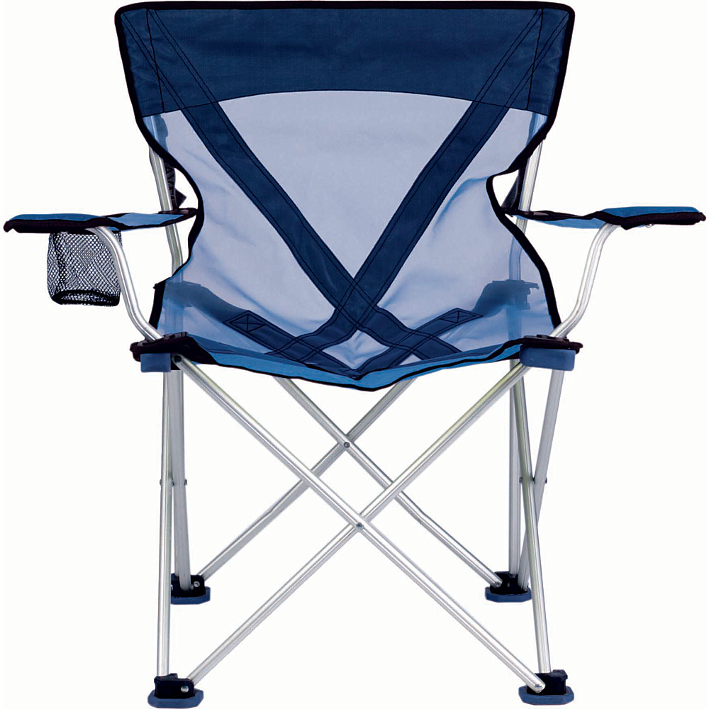 Travel Chair Company Teddy Steel Chair Blue Travel Chair Company Outdoor Accessories