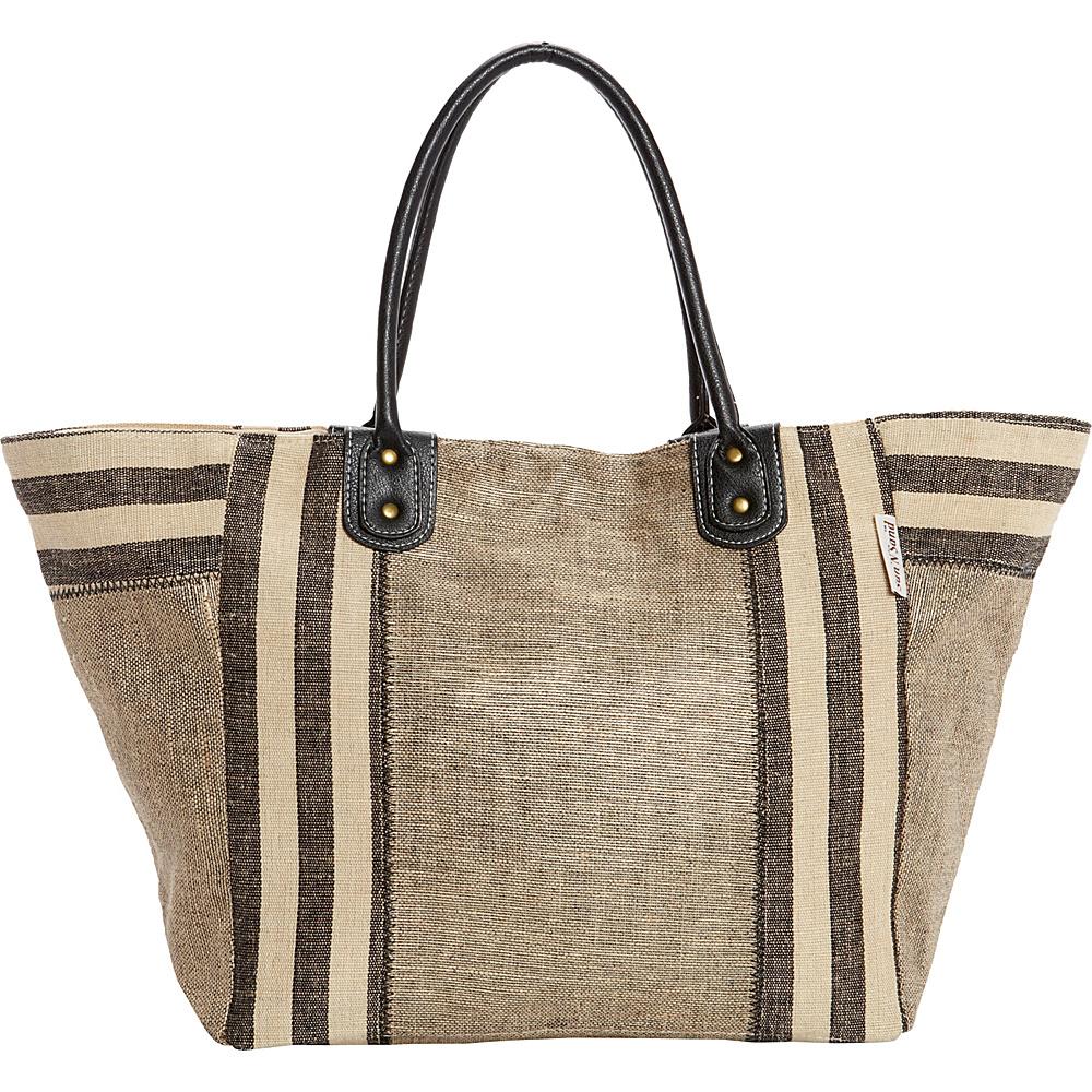 Sun N Sand Positano Tote Tan - Sun N Sand Fabric Handbags - Handbags, Fabric Handbags