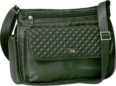 Lug Swivel Shoulder Bag Olive Green - Lug Fabric Handbags