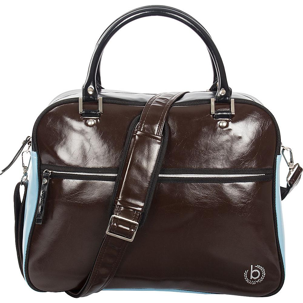 Bugatti Giocco Zip Bag Brown Bugatti Messenger Bags