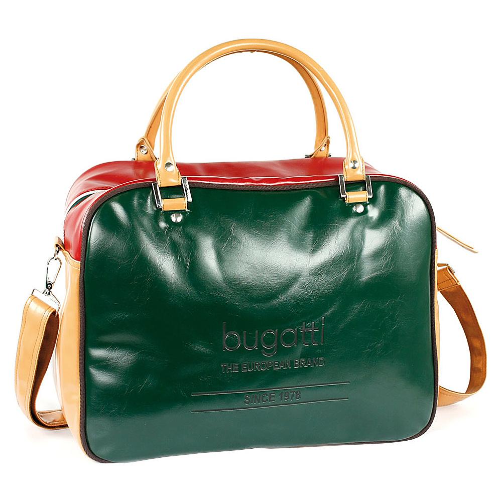 Bugatti Giocco Zip Bag Green Bugatti Messenger Bags