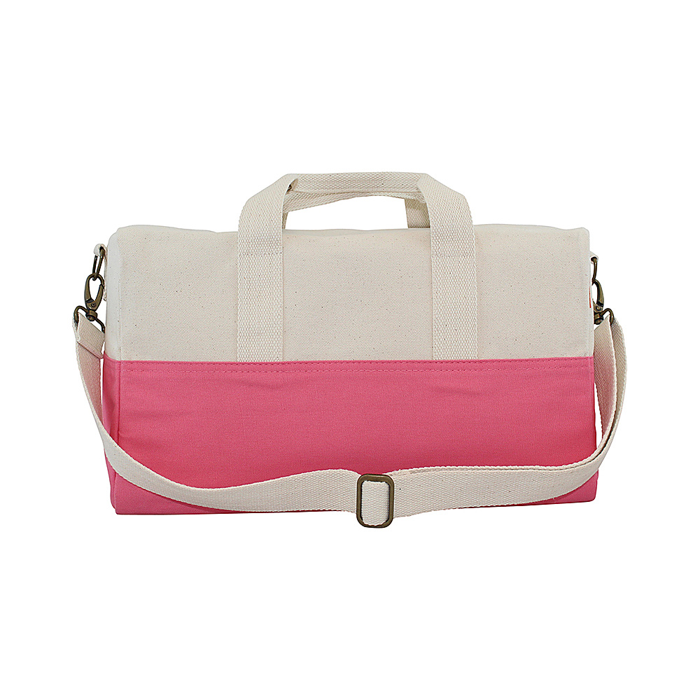 CB Station Color Block Duffel Coral CB Station Travel Duffels