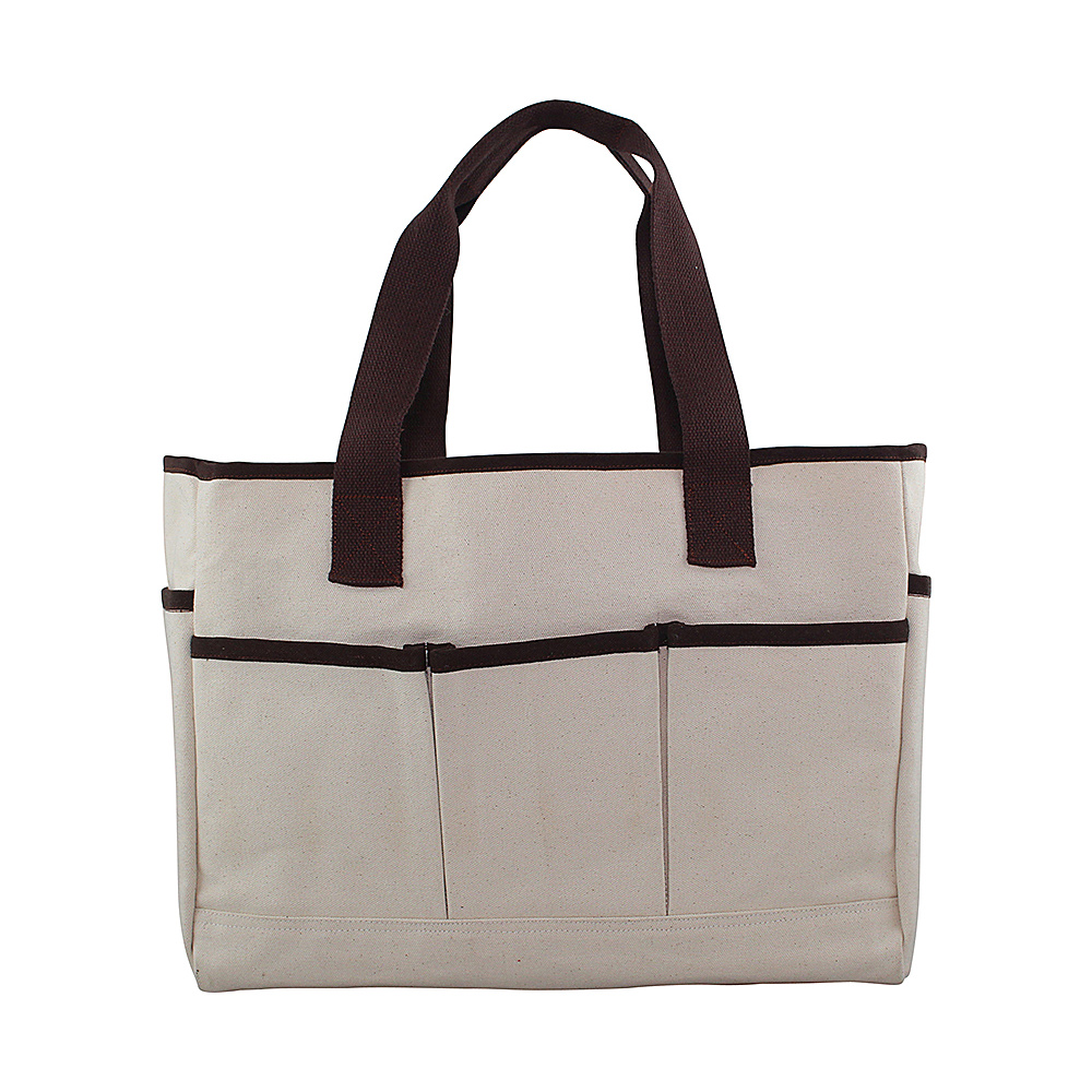 CB Station Utility Tote Natural - CB Station Fabric Handbags