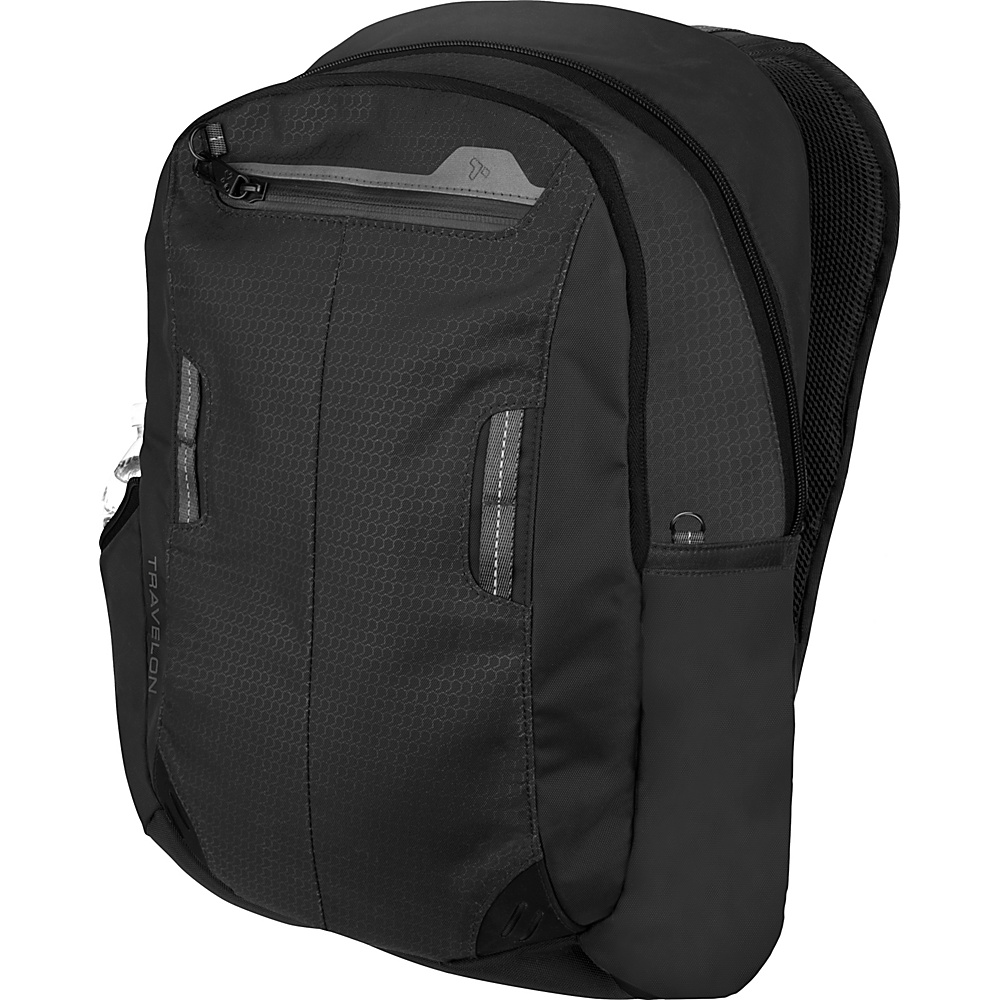Travelon Anti-Theft Active Daypack Black - Travelon Business & Laptop Backpacks - Backpacks, Business & Laptop Backpacks