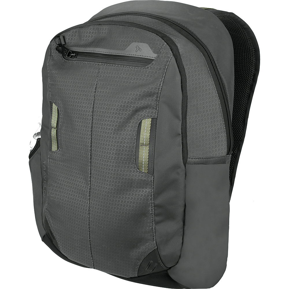 Travelon Anti-Theft Active Daypack Charcoal - Travelon Business & Laptop Backpacks - Backpacks, Business & Laptop Backpacks