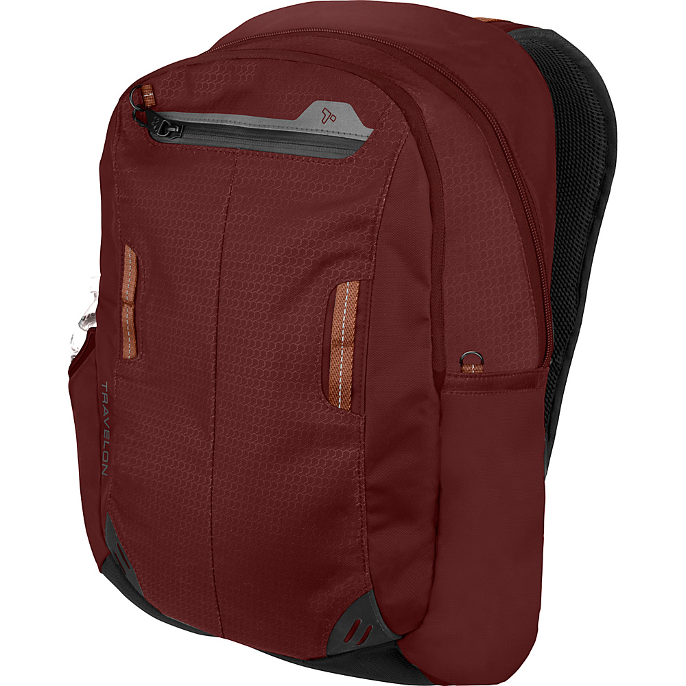 Travelon Anti-Theft Active Daypack Wine - Travelon Business & Laptop Backpacks - Backpacks, Business & Laptop Backpacks