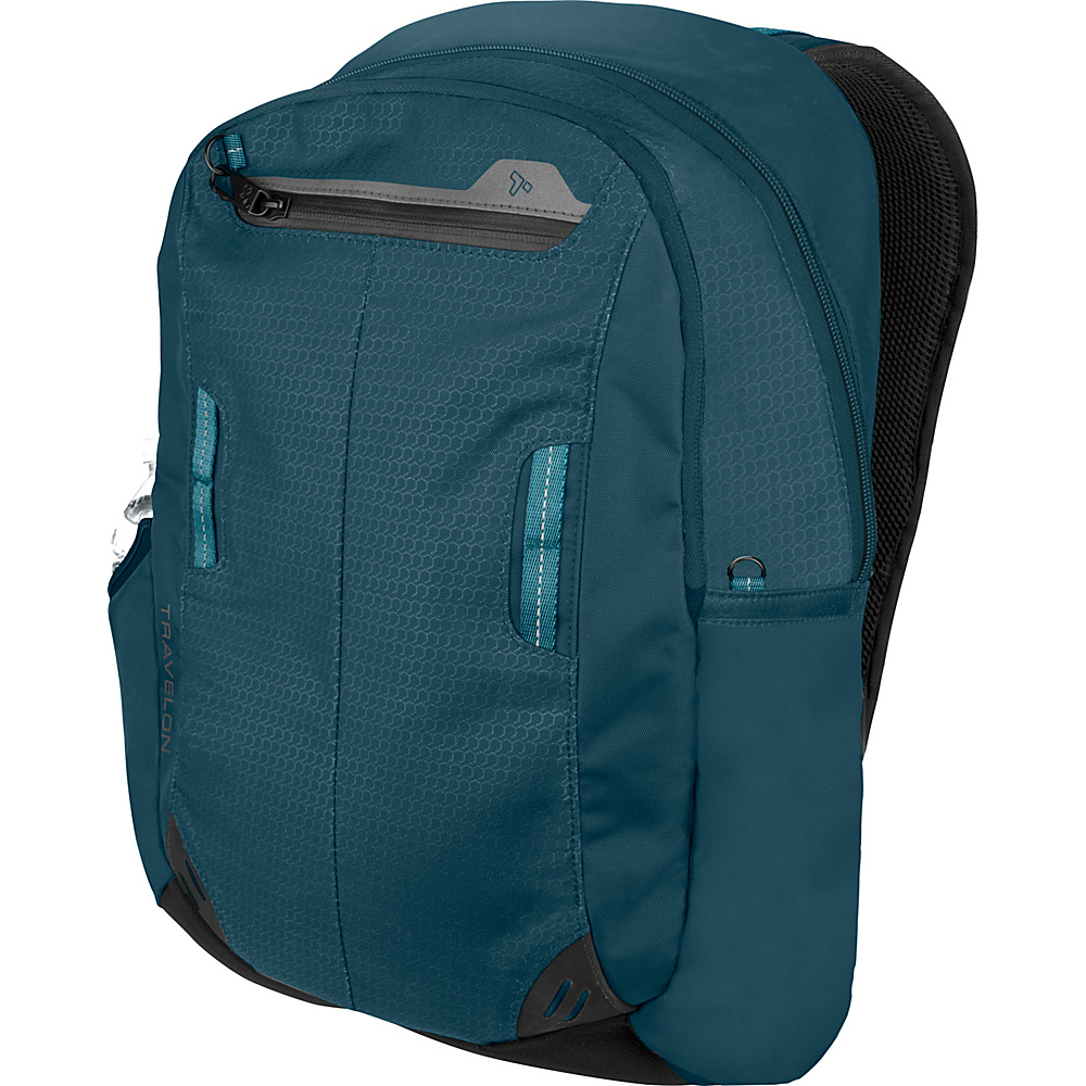 Travelon Anti-Theft Active Daypack Teal - Travelon Business & Laptop Backpacks - Backpacks, Business & Laptop Backpacks