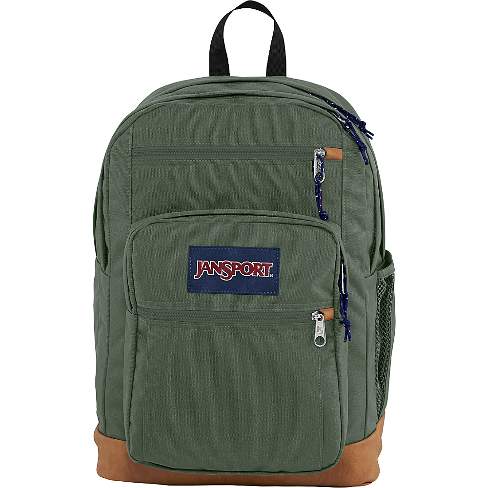 JanSport Cool Student Backpack Muted Green - JanSport Everyday Backpacks