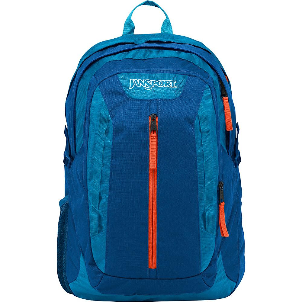 JanSport Tilden Laptop Backpack Moroccan Deep / Midnight Sky - JanSport Business & Laptop Backpacks - Backpacks, Business & Laptop Backpacks