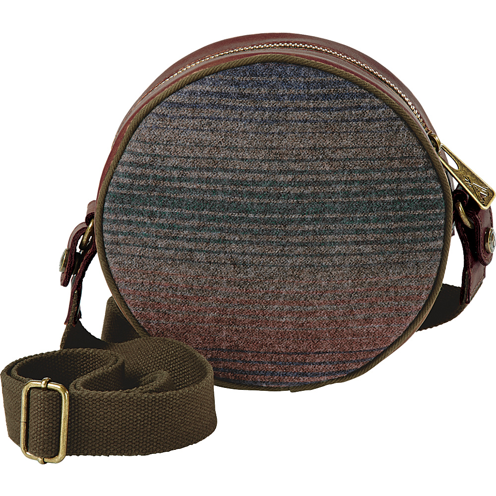 Pendleton Canteen Bag Yakima Camp Stripe - Pendleton Fabric Handbags