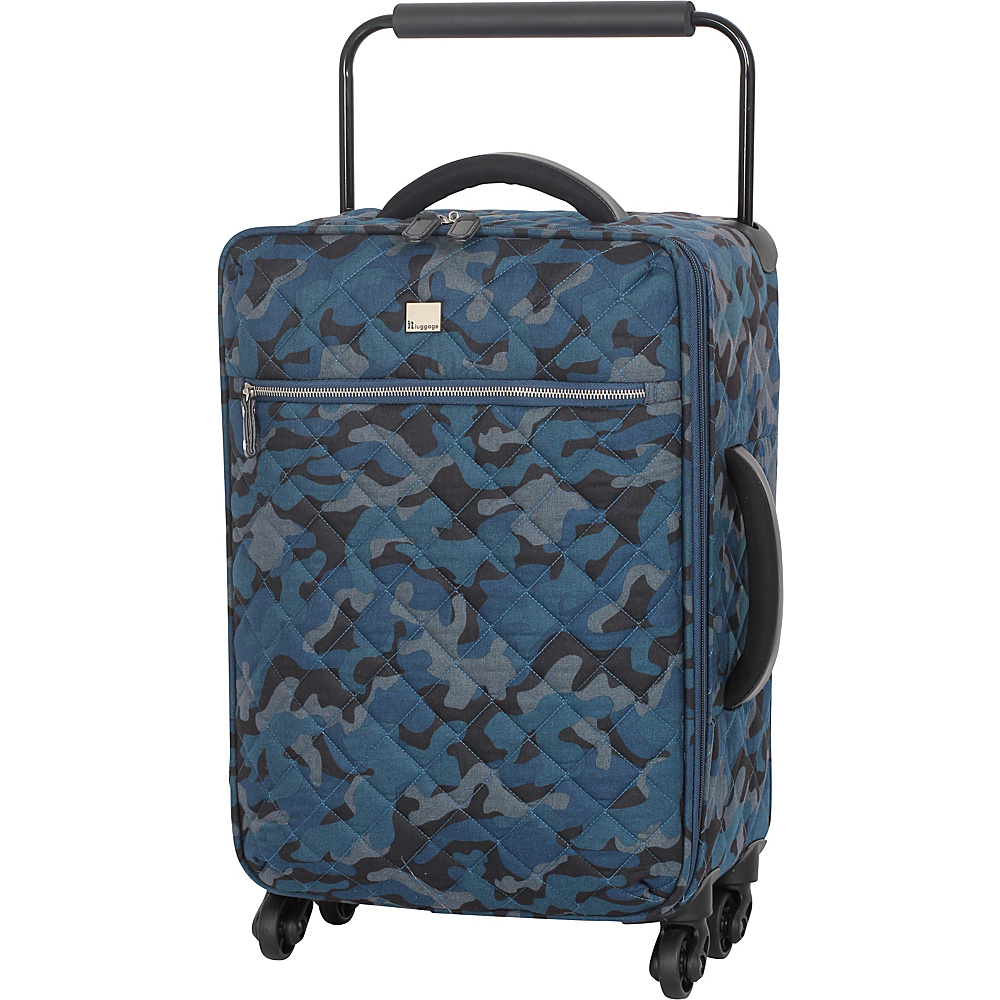 it luggage World's Lightest Quilted Camo 21.7 inch 4 Small Rolling ...