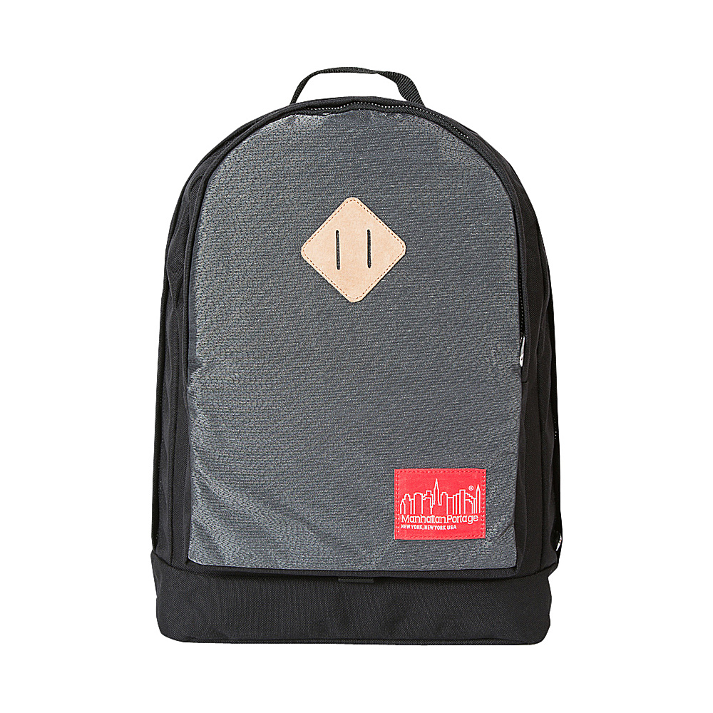 Manhattan Portage Reflective Highbridge Backpack Black - Manhattan Portage Business & Laptop Backpacks - Backpacks, Business & Laptop Backpacks