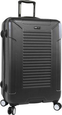Perry Ellis Nova Hardside 29 inch Spinner Luggage Black - Perry Ellis Hardside Checked