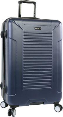 Perry Ellis Nova Hardside 29 inch Spinner Luggage Navy - Perry Ellis Hardside Checked