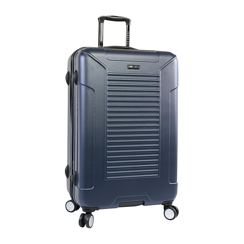 "Perry Ellis Nova Hardside 29"" Spinner Luggage Navy - Perry Ellis Hardside Checked"