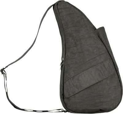 AmeriBag Healthy Back Bag  Distressed Nylon Extra Small Stormy Grey - AmeriBag Fabric Handbags