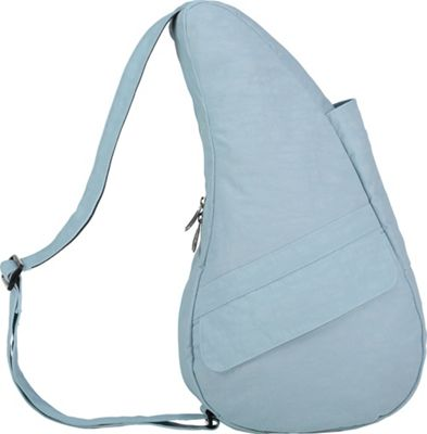AmeriBag Healthy Back Bag  Distressed Nylon Extra Small Glacier Blue - AmeriBag Fabric Handbags