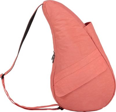 AmeriBag Healthy Back Bag  Distressed Nylon Extra Small Peachblossom - AmeriBag Fabric Handbags