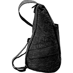 Healthy Back Bag ® Distressed Nylon Extra Small Black