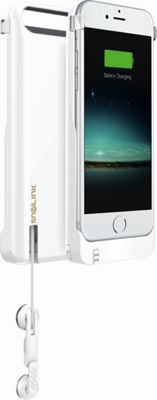 Snailink RAPPCase For iPhone 6/6s with Built-in 2650mAh Battery White - Snailink Electronic Cases